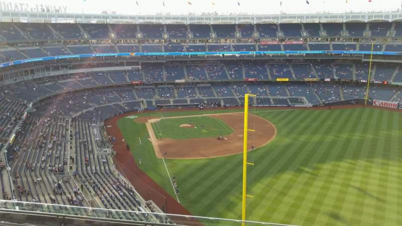 Yankee Stadium, section: 407B, row: 6, seat: 6