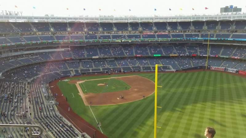 Yankee Stadium, section: 407B, row: 6, seat: 13