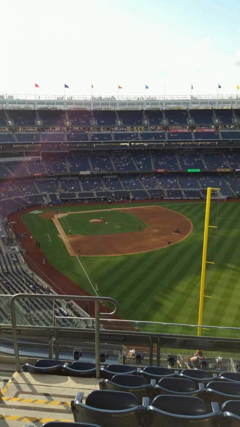 Yankee Stadium, section: 407B, row: 6, seat: 16