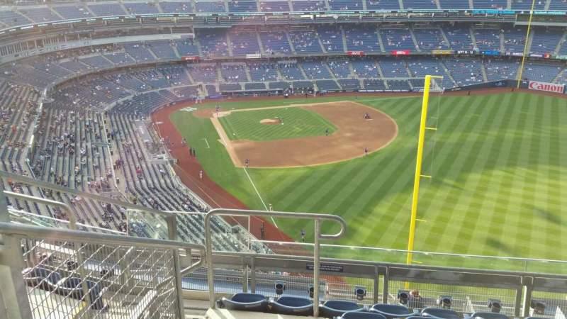 Yankee Stadium, section: 407B, row: 6, seat: 17