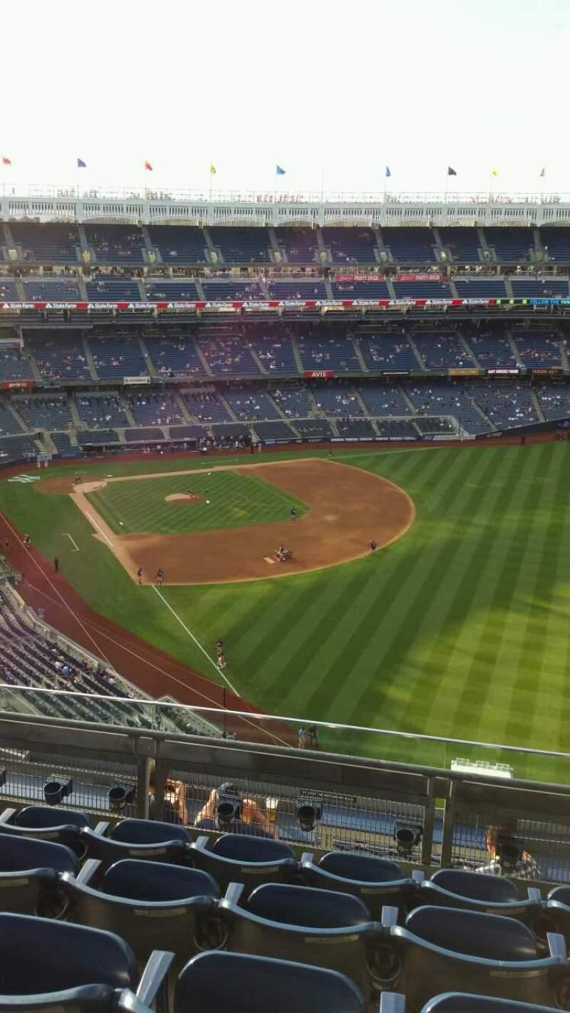 Yankee Stadium, section: 408, row: 5, seat: 6