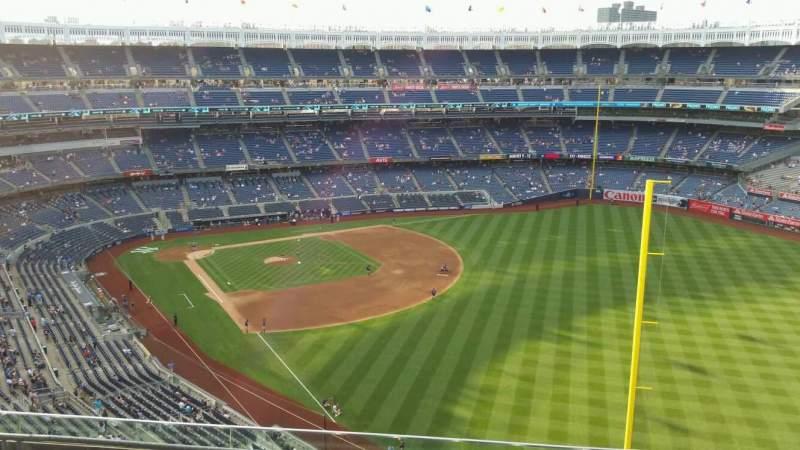 Yankee Stadium, section: 408, row: 5, seat: 9