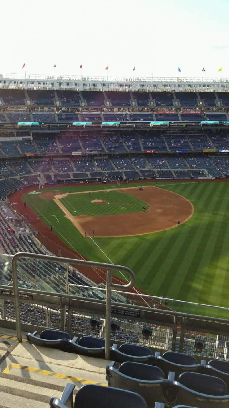 Seating view for Yankee Stadium Section 408 Row 5 Seat 15