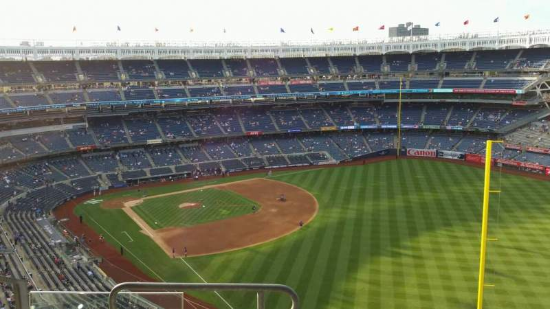 Yankee Stadium, section: 408, row: 5, seat: 16