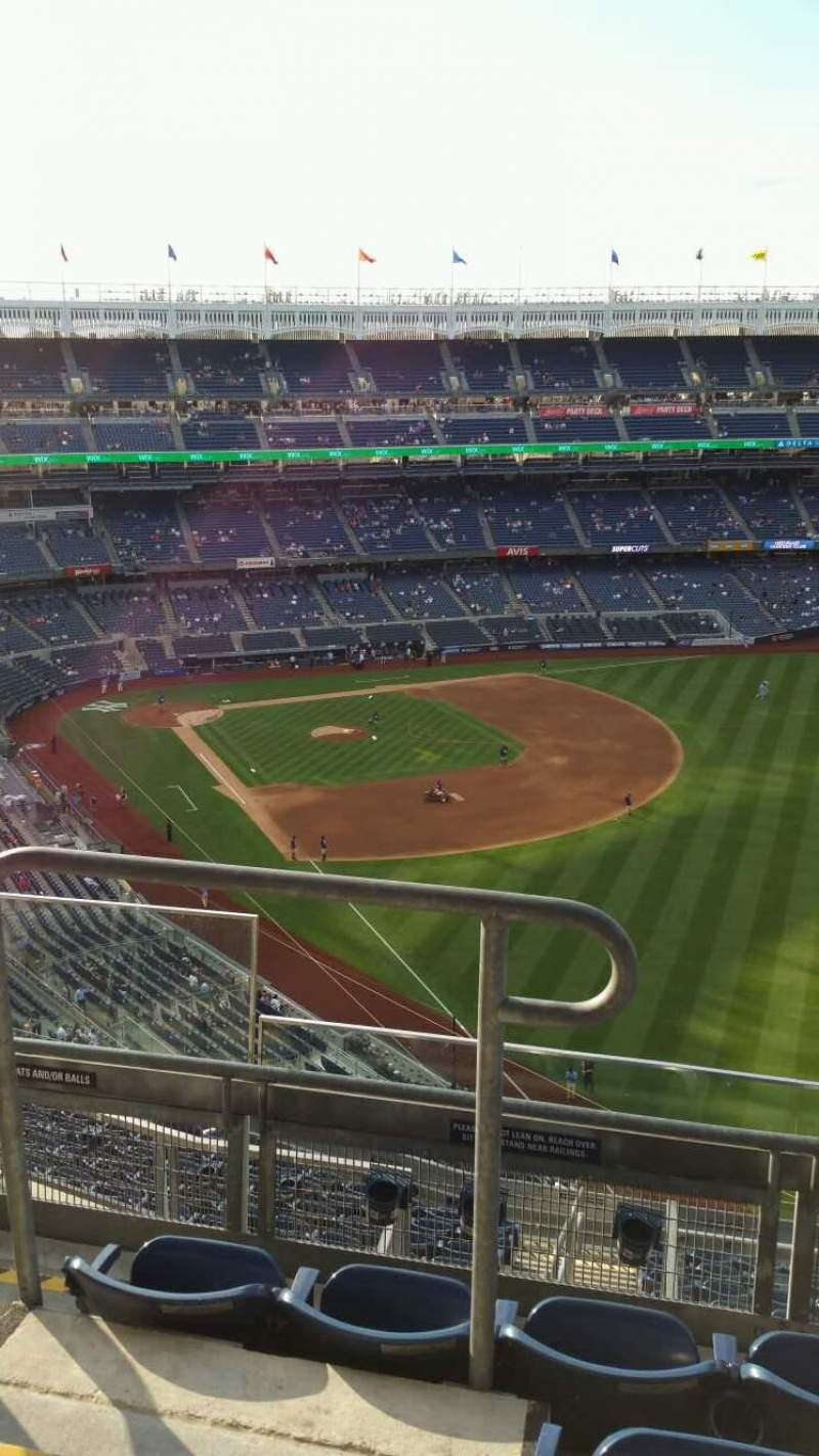 Seating view for Yankee Stadium Section 408 Row 4 Seat 16