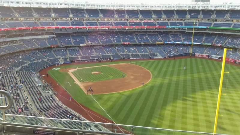 Yankee Stadium, section: 408, row: 4, seat: 13