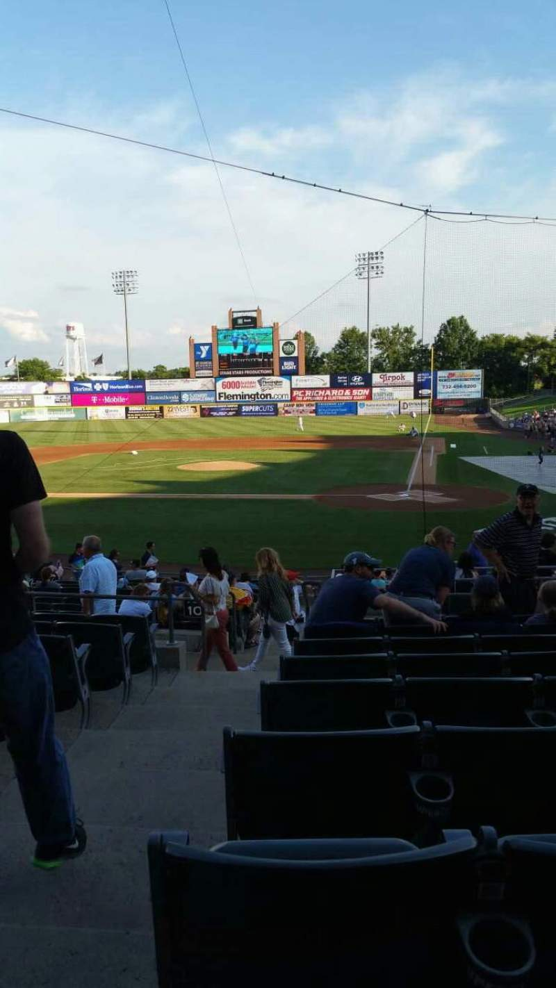 Seating view for TD Bank Ballpark Section 206 Row S Seat 16
