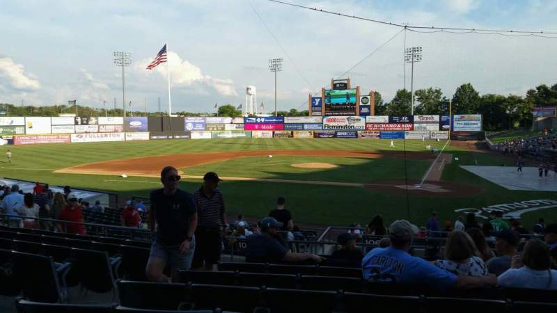 Seating view for TD Bank Ballpark Section 206 Row S Seat 13