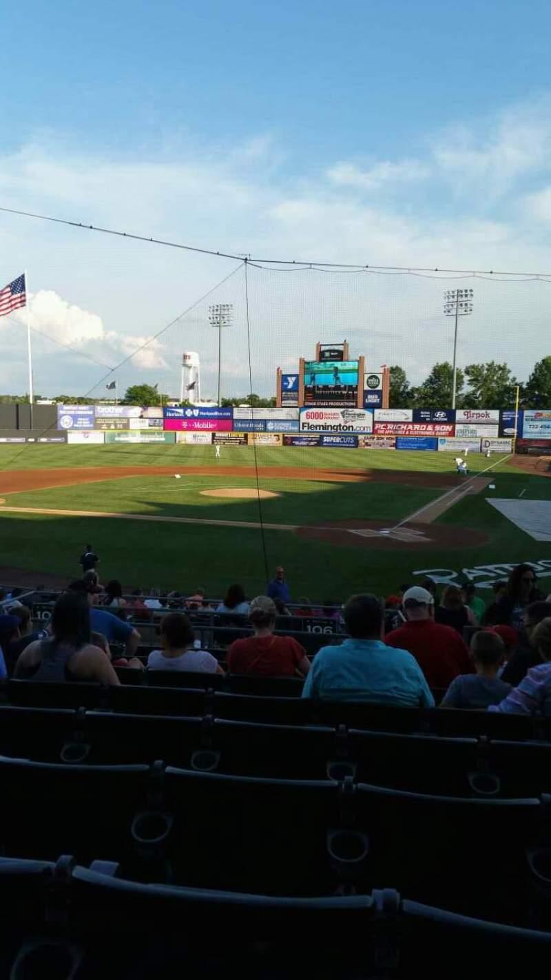 TD Bank Ballpark, section: 206, row: S, seat: 4
