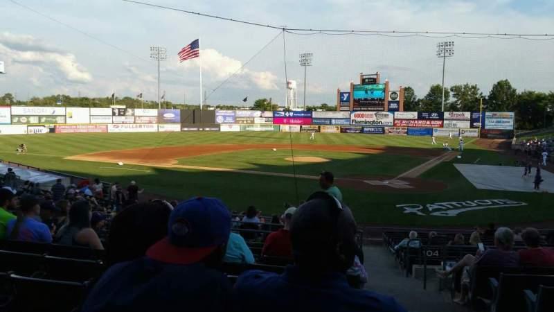 TD Bank Ballpark, section: 206, row: S, seat: 1