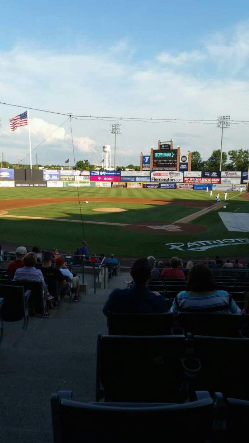 TD Bank Ballpark, section: 204, row: U, seat: 17