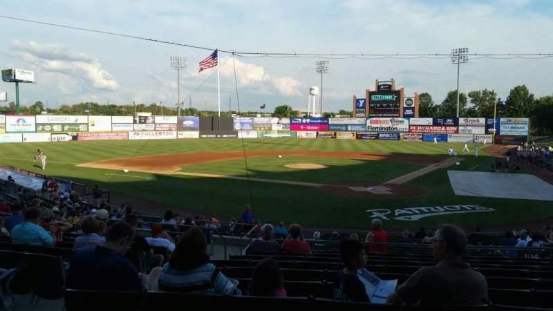 TD Bank Ballpark, section: 204, row: U, seat: 14