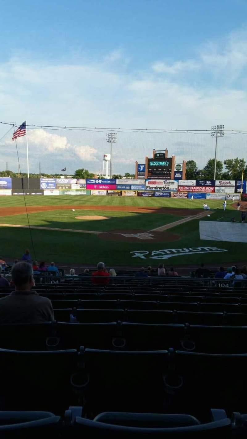 TD Bank Ballpark, section: 204, row: U, seat: 11