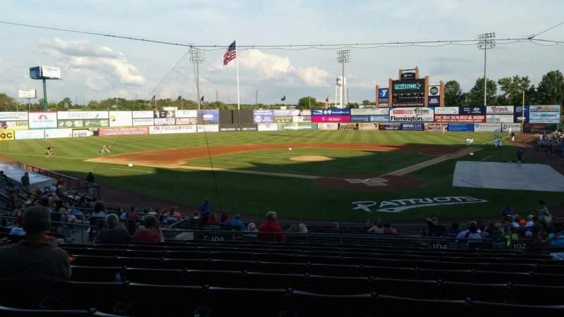 TD Bank Ballpark, section: 204, row: U, seat: 8