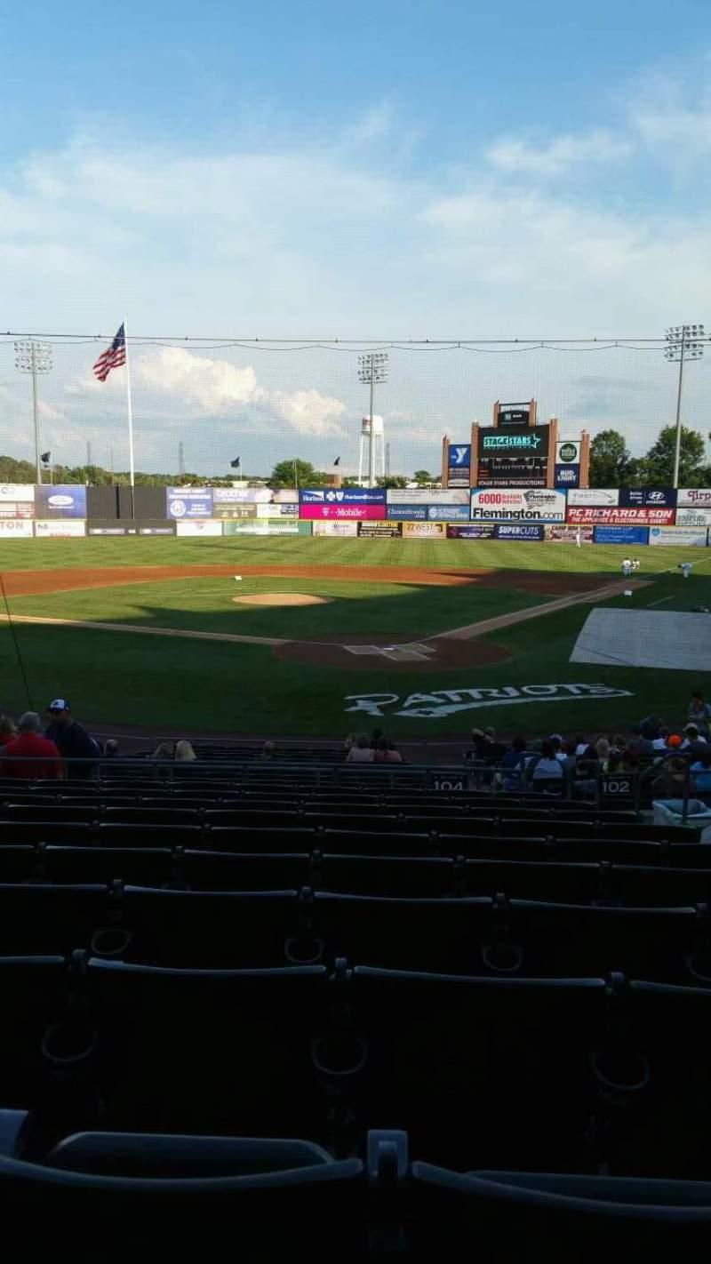 TD Bank Ballpark, section: 204, row: U, seat: 5