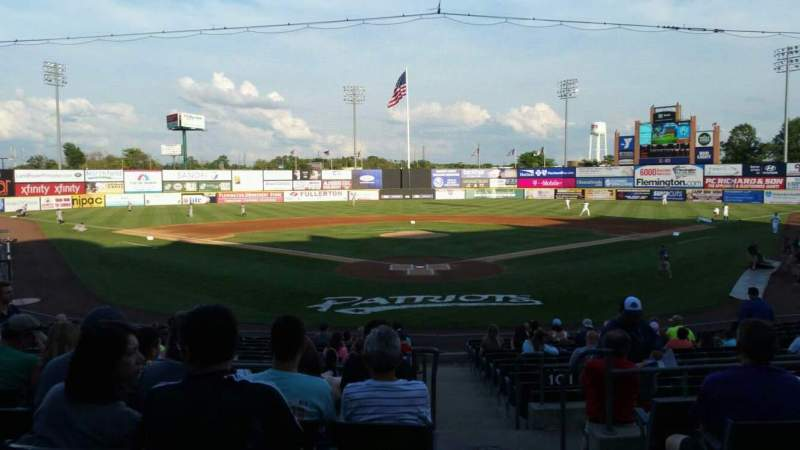 TD Bank Ballpark, section: 202, row: P, seat: 1