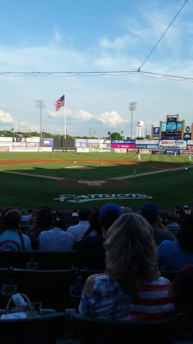 TD Bank Ballpark, section: 202, row: P, seat: 8