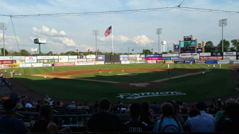 TD Bank Ballpark, section: 202, row: P, seat: 11