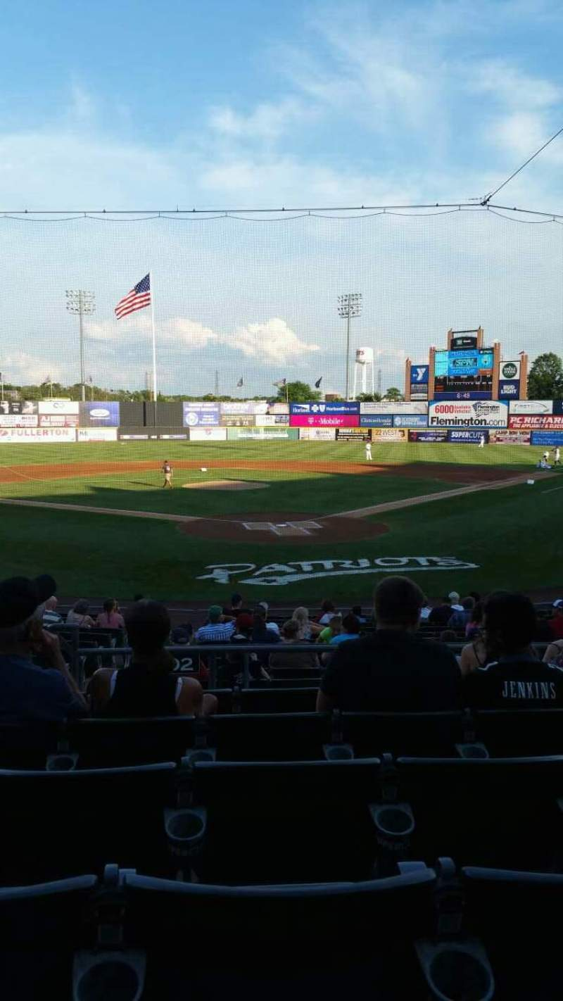 TD Bank Ballpark, section: 202, row: P, seat: 13
