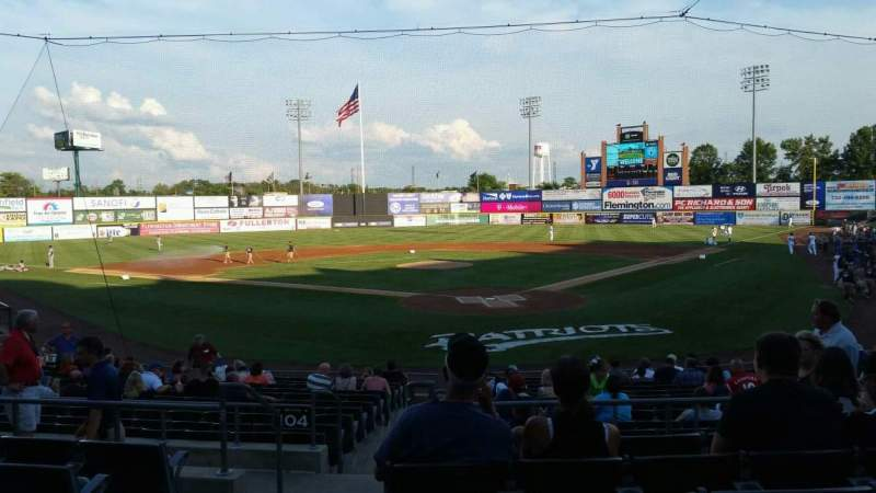 TD Bank Ballpark, section: 202, row: P, seat: 15