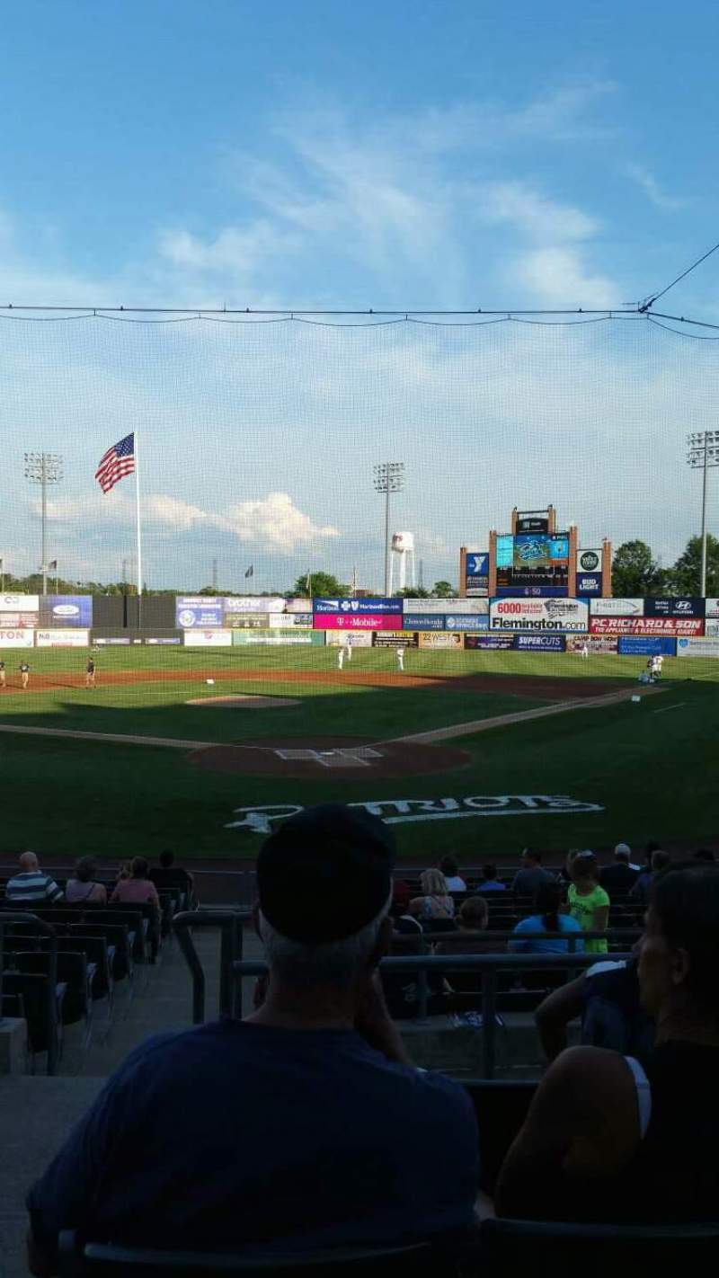 TD Bank Ballpark, section: 202, row: N, seat: 14
