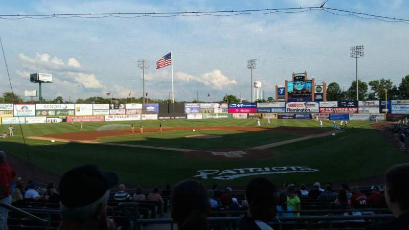 TD Bank Ballpark, section: 202, row: N, seat: 13