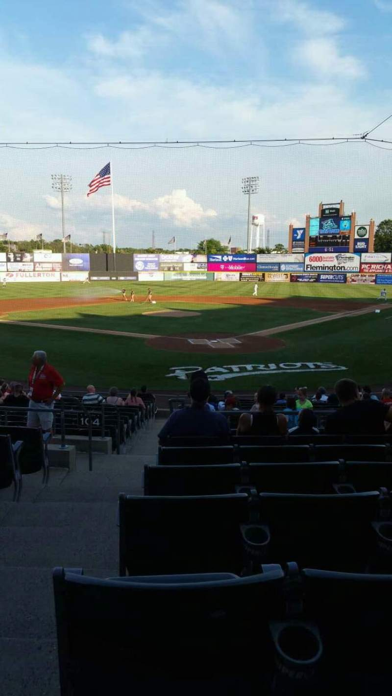 TD Bank Ballpark, section: 202, row: R, seat: 16