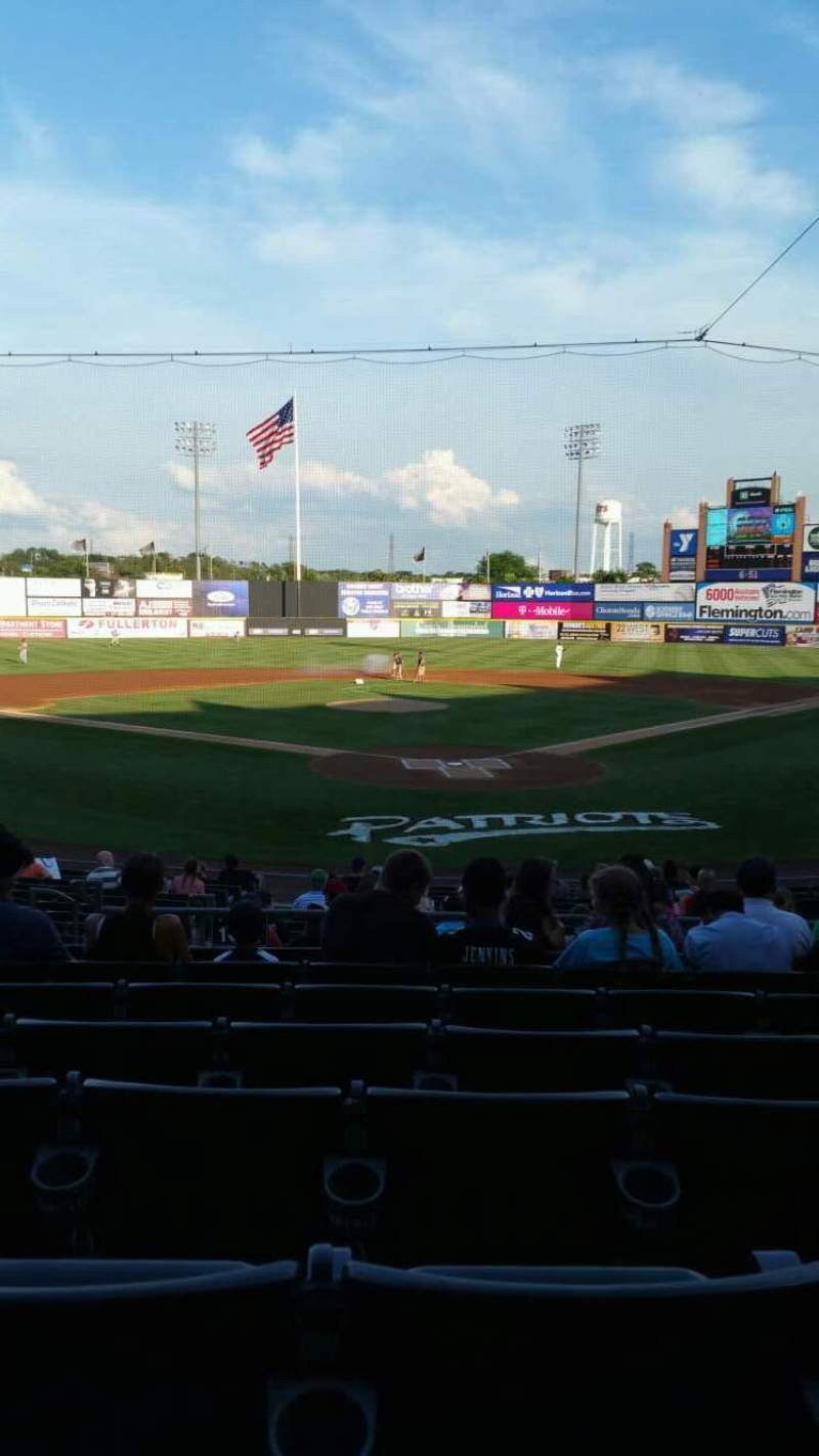 TD Bank Ballpark, section: 202, row: R, seat: 12