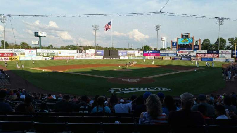 TD Bank Ballpark, section: 202, row: R, seat: 9