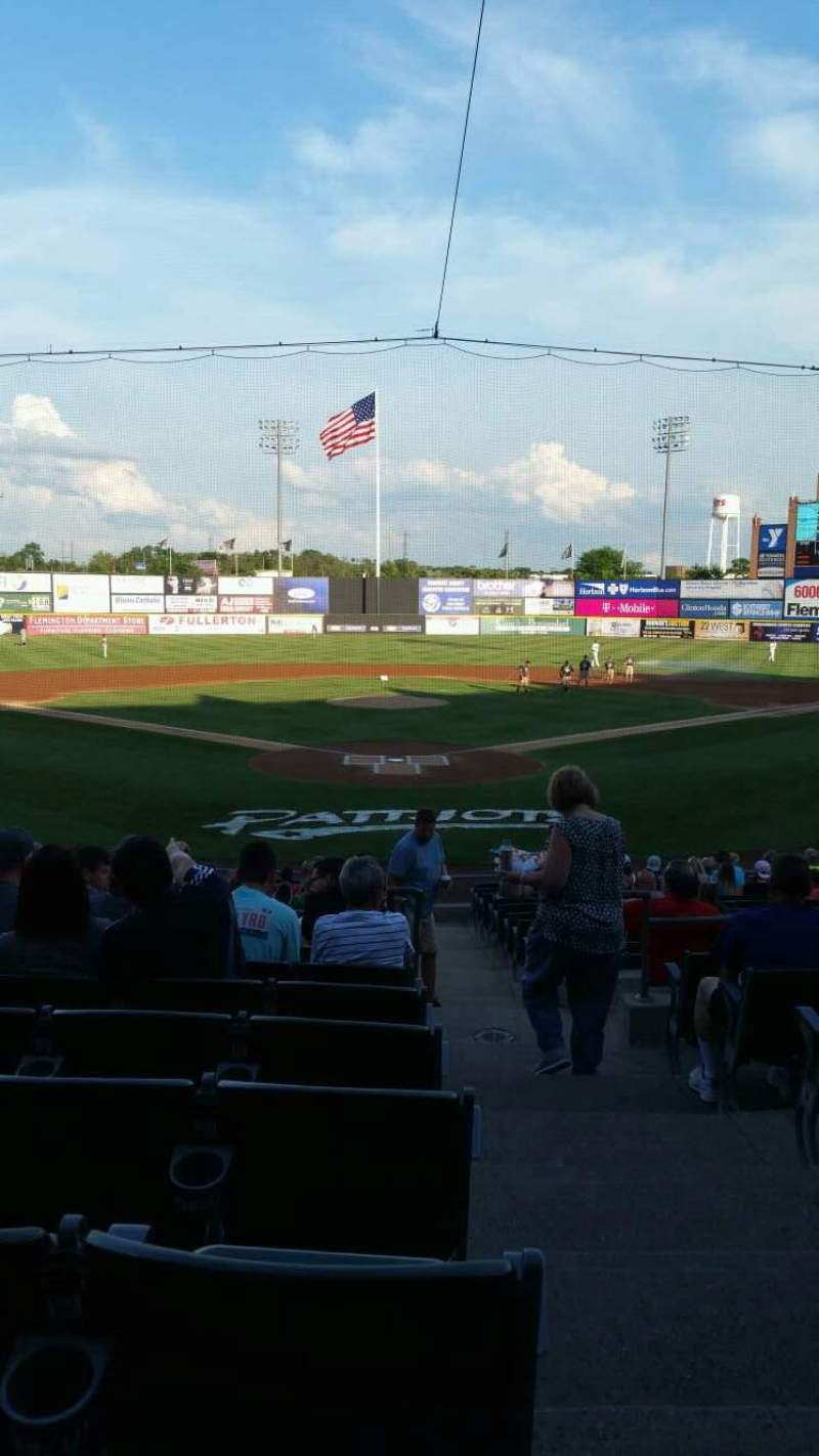 TD Bank Ballpark, section: 202, row: R, seat: 1