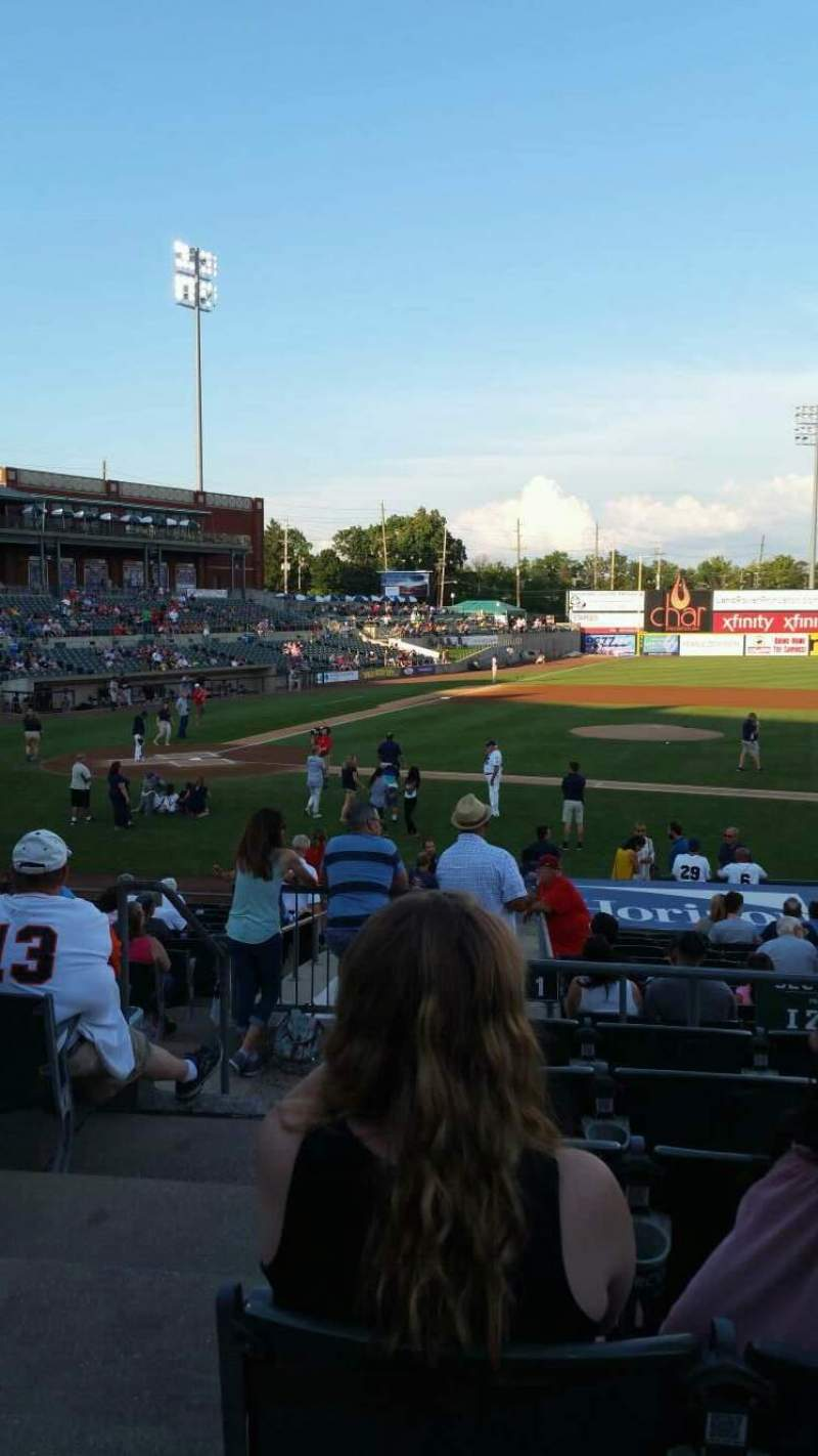TD Bank Ballpark, section: 211, row: P, seat: 18