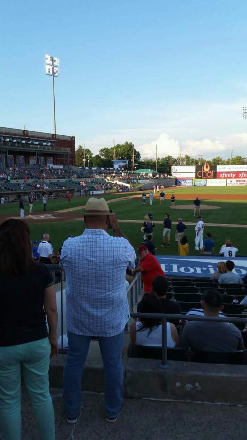 TD Bank Ballpark, section: 211, row: K, seat: 17