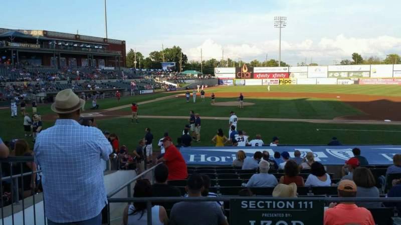 TD Bank Ballpark, section: 211, row: K, seat: 16
