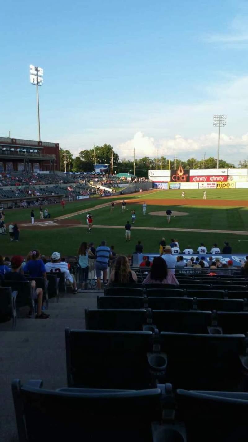 TD Bank Ballpark, section: 211, row: U, seat: 18