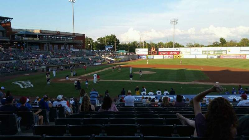 TD Bank Ballpark, section: 211, row: U, seat: 16