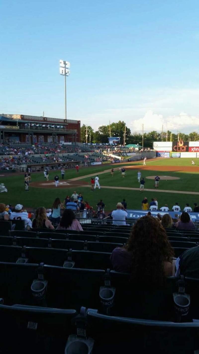 TD Bank Ballpark, section: 211, row: U, seat: 14