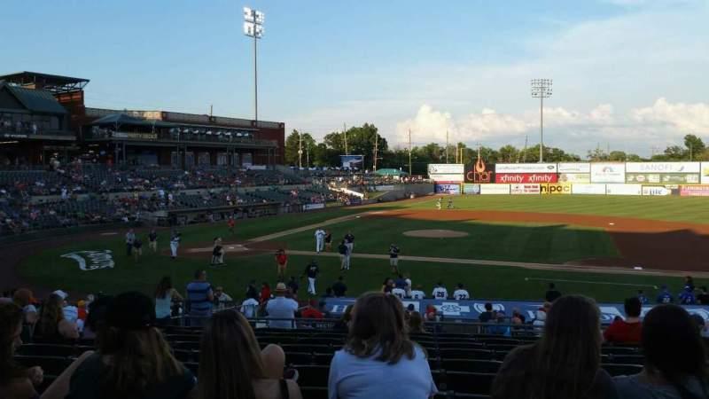 TD Bank Ballpark, section: 211, row: U, seat: 11