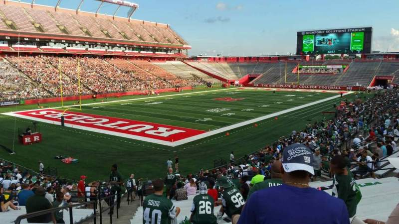 Seating view for High Point Solutions Stadium Section 111 Row 30 Seat 26