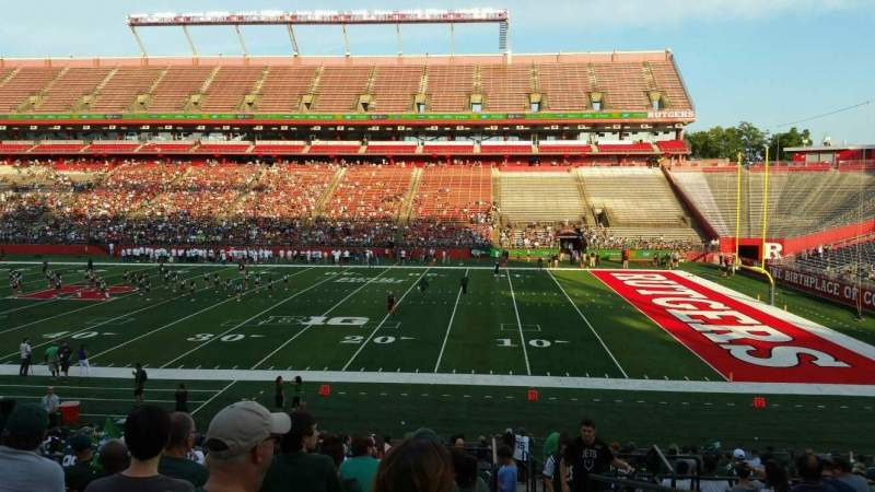 Seating view for SHI Stadium Section 103 Row 23 Seat 1
