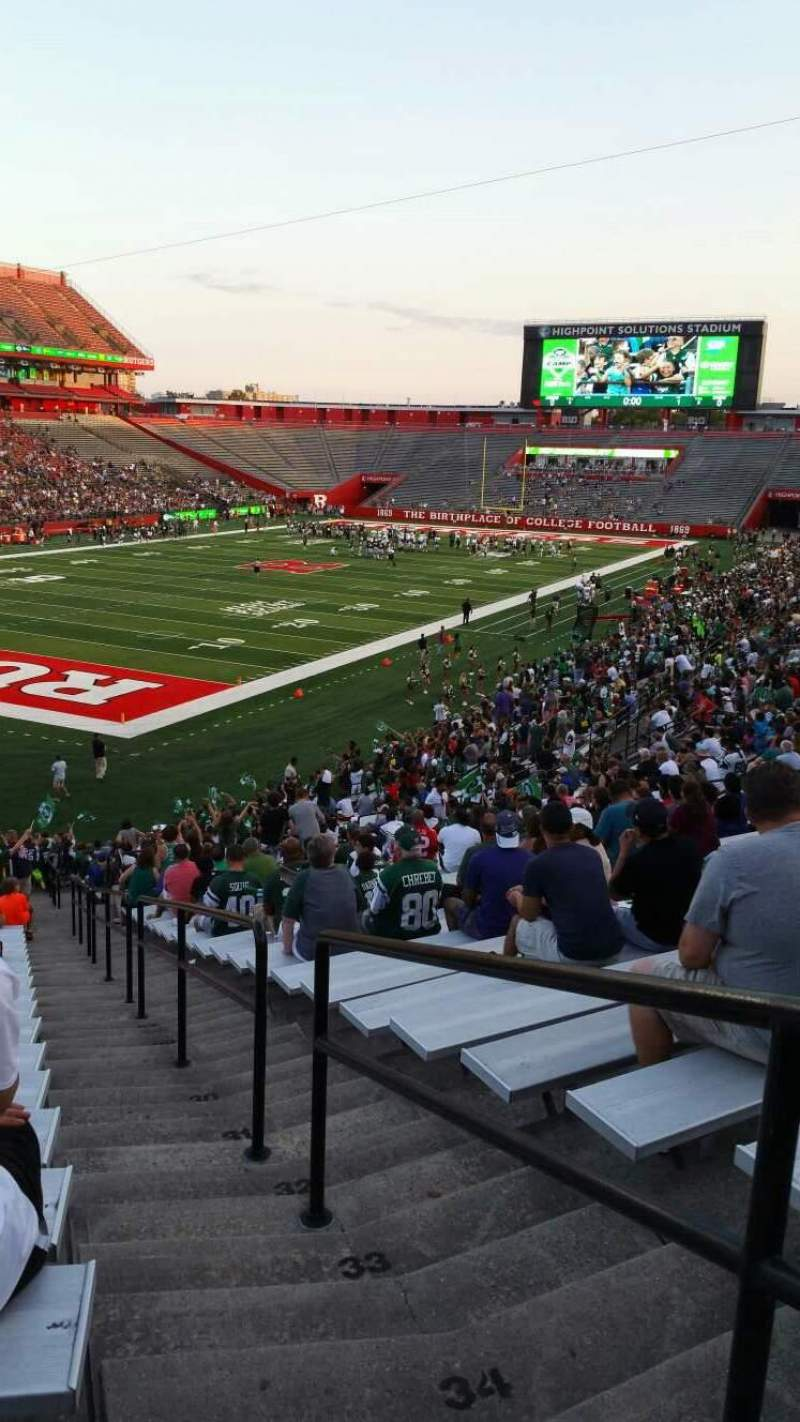 High Point Solutions Stadium, section: 112, row: 37, seat: 1