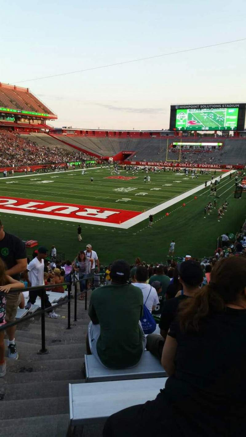 High Point Solutions Stadium, section: 111, row: 29, seat: 26