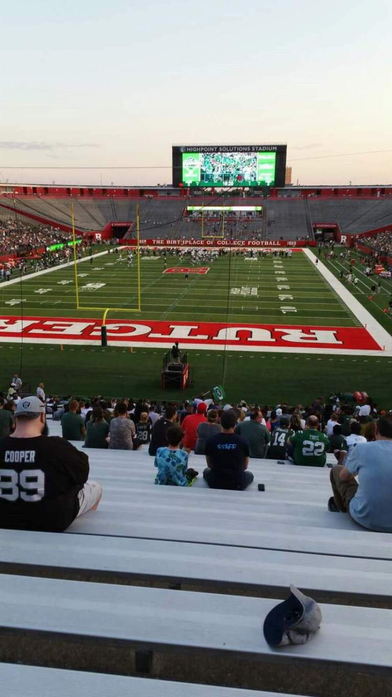 High Point Solutions Stadium, section: 115, row: 36, seat: 8