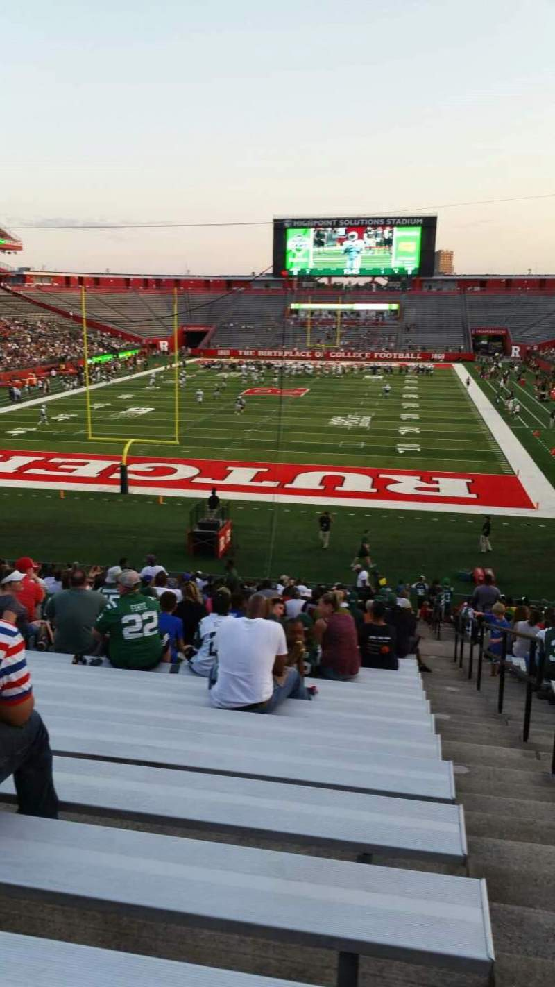 High Point Solutions Stadium, section: 115, row: 33, seat: 1