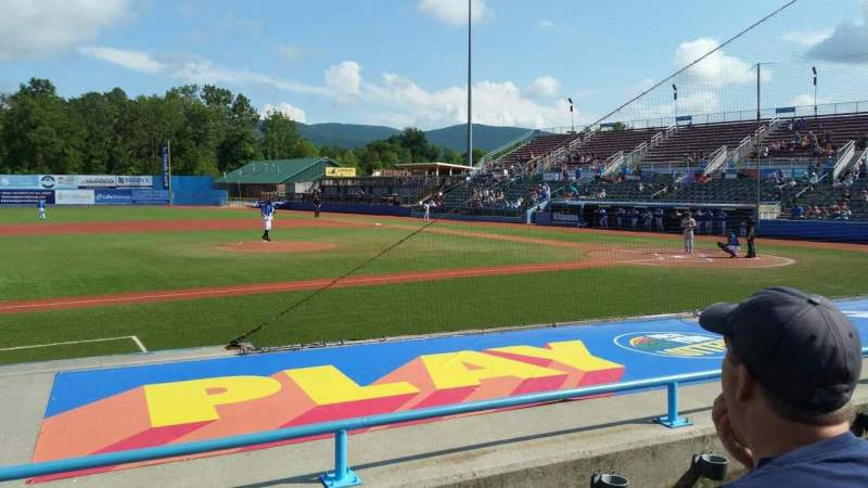 Seating view for Dutchess Stadium Section 110 Row F Seat 7