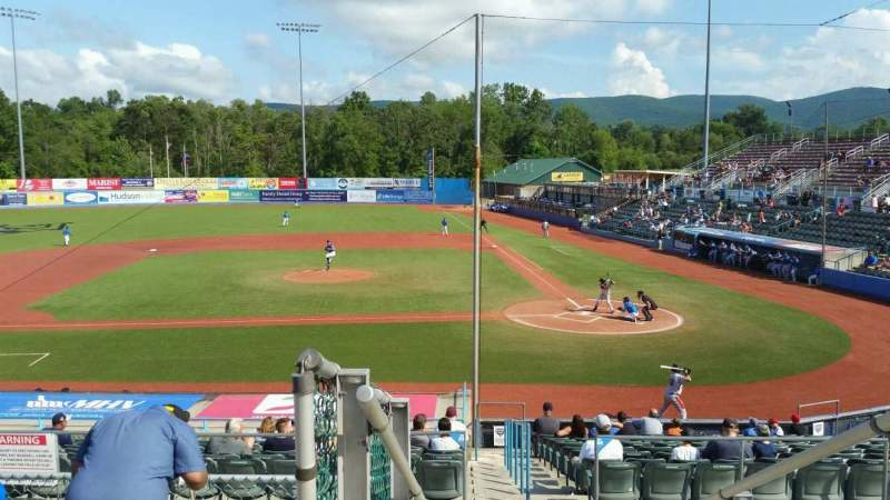 Seating view for Dutchess Stadium Section 305 Row E Seat 20