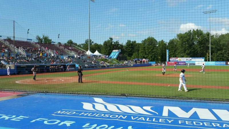 Seating view for Dutchess Stadium Section 103 Row D Seat 15
