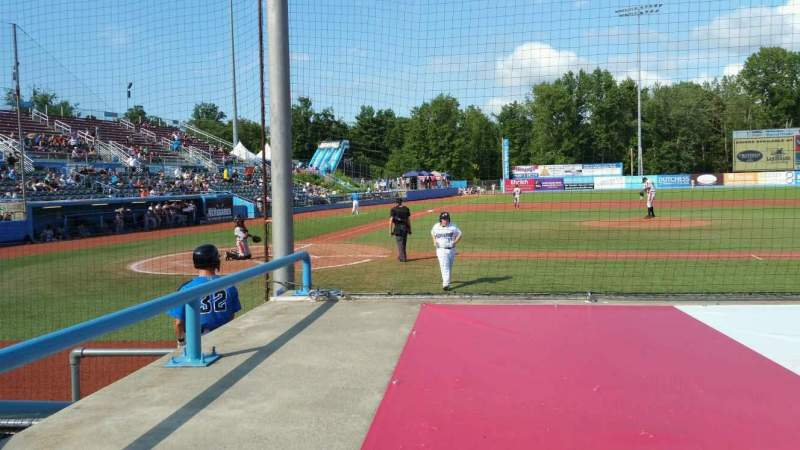 Seating view for Dutchess Stadium Section 103 Row D Seat 2