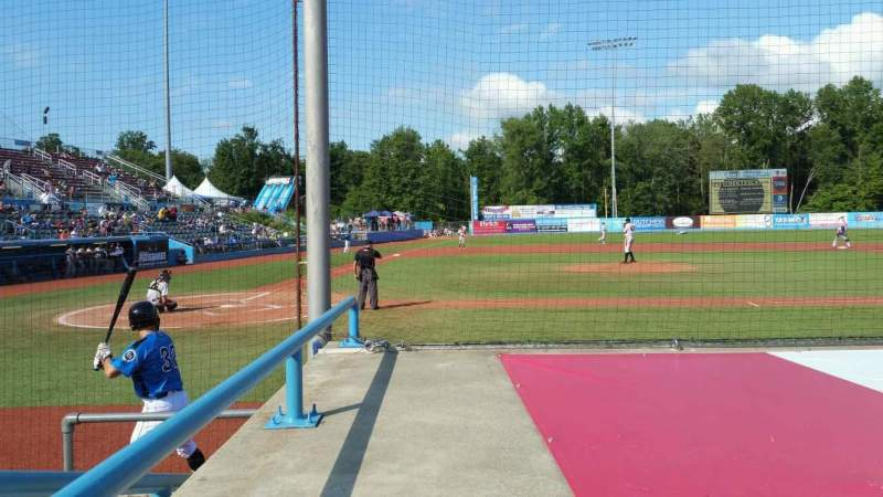 Seating view for Dutchess Stadium Section 103 Row D Seat 1