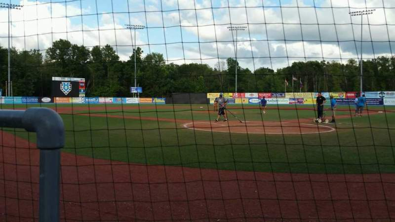 Seating view for Dutchess Stadium Section 106 Row A Seat 1