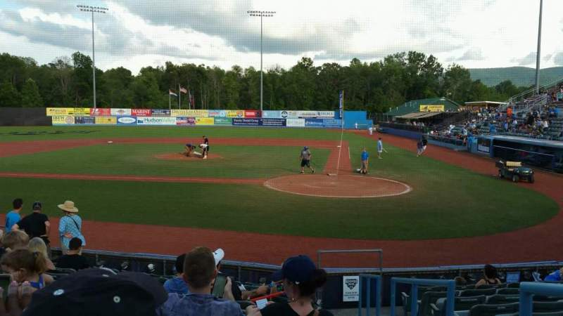 Seating view for Dutchess Stadium Section 108 Row J Seat 14